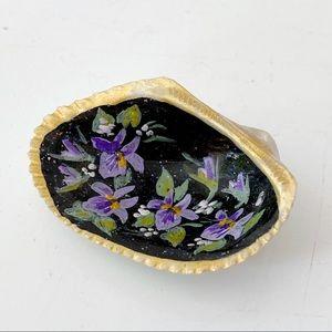 🎉5/20 SALE🎉 hand painted seashell